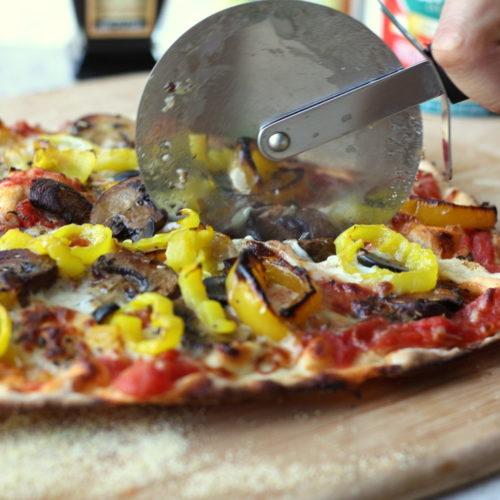 Drool-Worthy Daily: Roasted Veggie Pizza With Garlic Balsamic Glaze