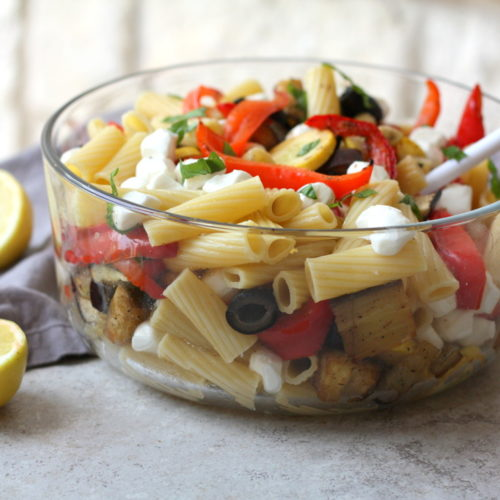Drool-Worthy Daily: Roasted Red Pepper Tuscan Pasta Salad