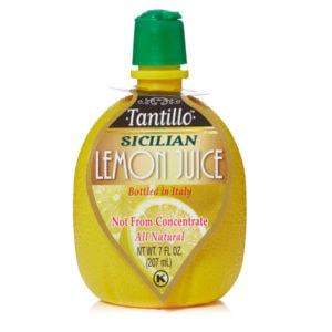 Tantillo Sicilian Lemon Juice – 7oz.