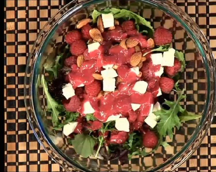 Raspberry salad BWQ