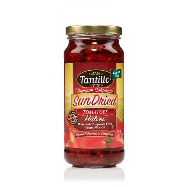 Tantillo Sundried Tomatoes Halves – 16oz