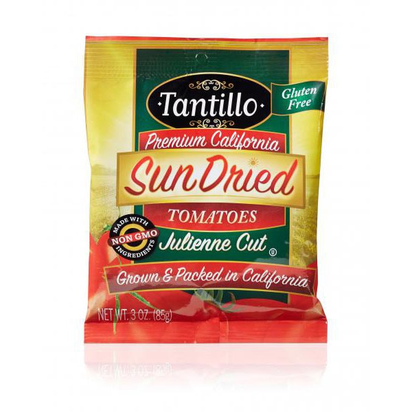 Tantillo Sundried Tomatoes – Julienne – 3oz Bag