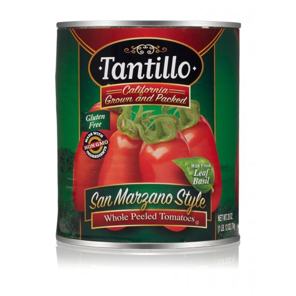 Tantillo California Whole Peeled Tomatoes – 28oz
