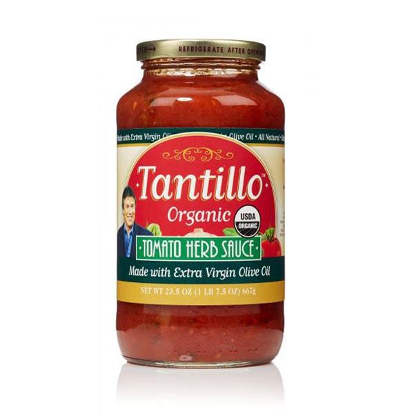 Tantillo ORGANIC California Tomato Herb Sauce – 23.5oz