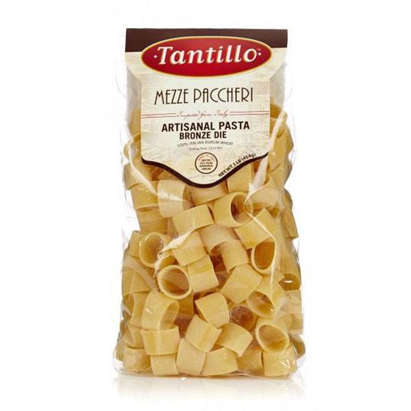 Tantillo Artisanal Mezze Paccheri Pasta – 1lb