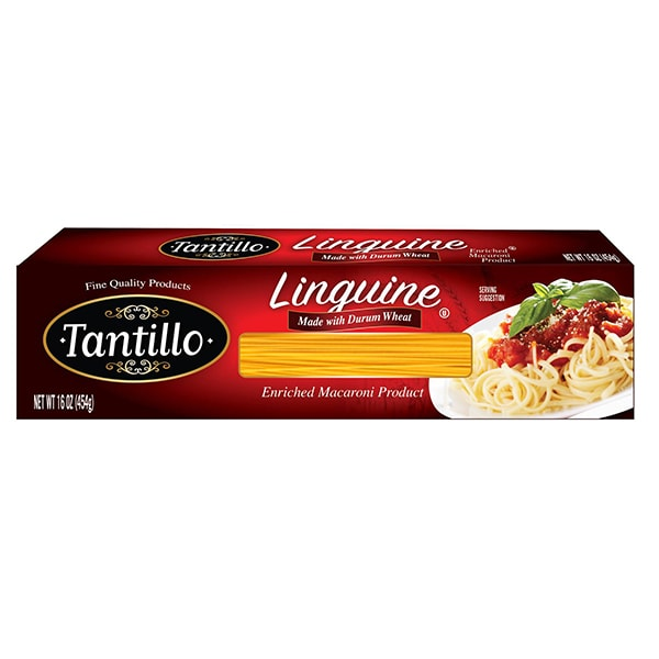 tantillo linguini pasta 1lb box tantillo foods