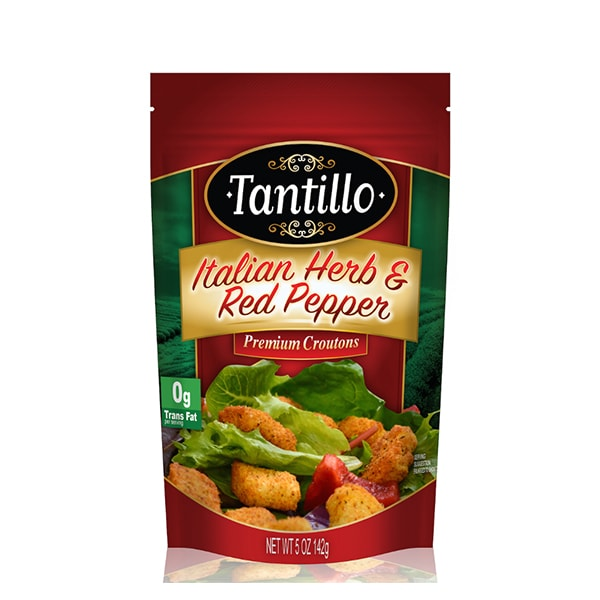 Tantillo Italian Herbs & Red Pepper Croutons