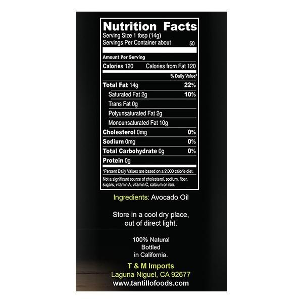 avocado-nutritional