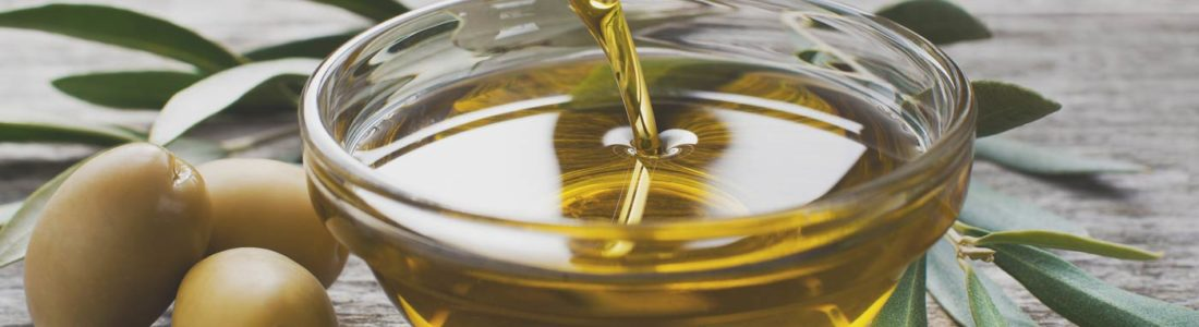 Poured Olive Oil