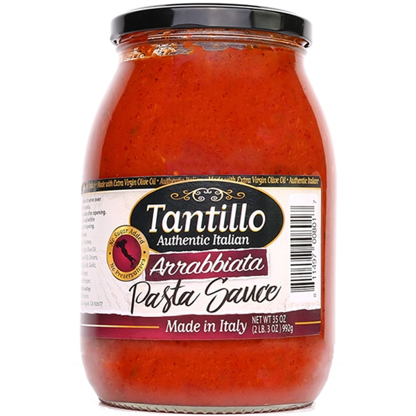 NEW* Tantillo Authentic Italian Arrabbiata Pasta Sauce – 35oz