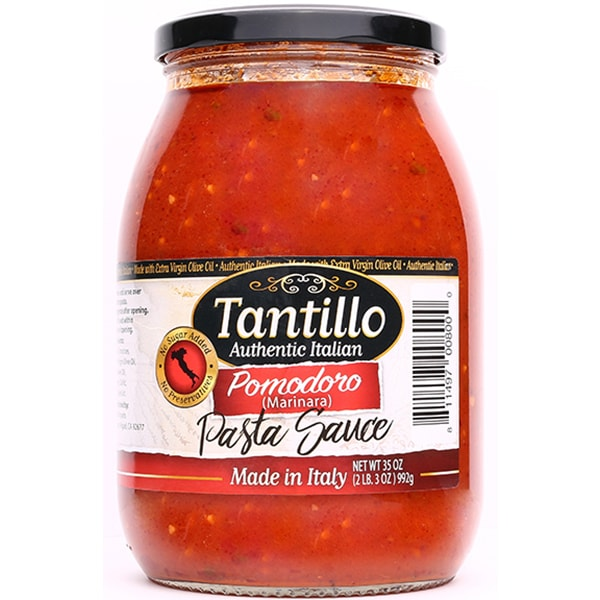 NEW* Tantillo Authentic Italian Pomodoro Pasta Sauce – 35oz