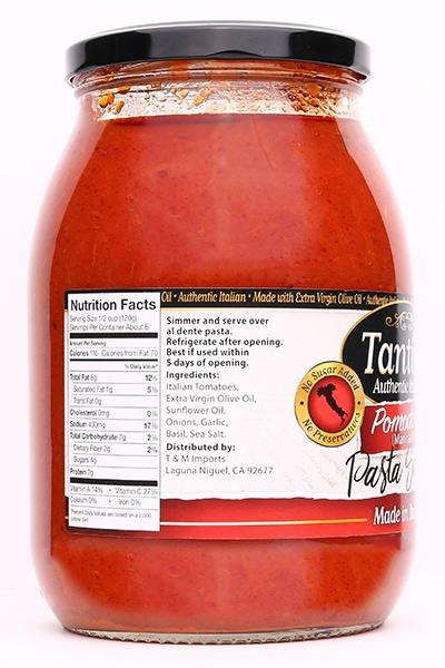 pomodora-italian-sauce-nutritional-tantillo
