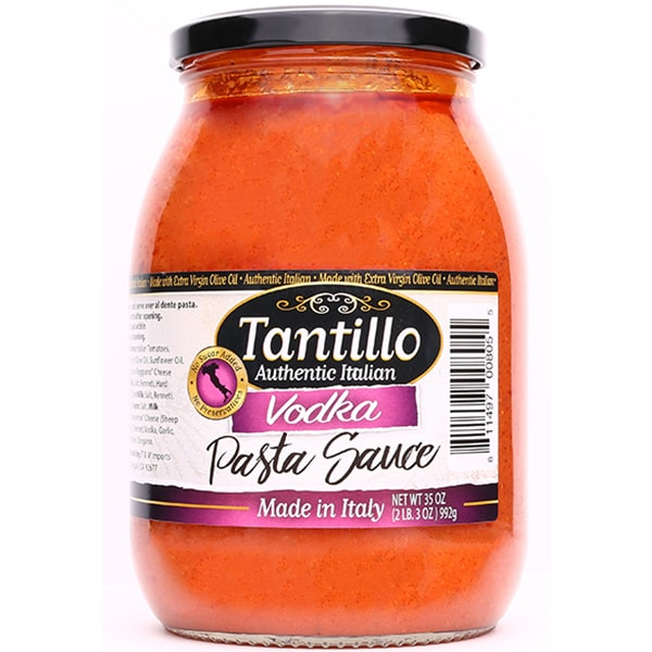 NEW* Tantillo Authentic Italian Vodka Pasta Sauce – 35oz