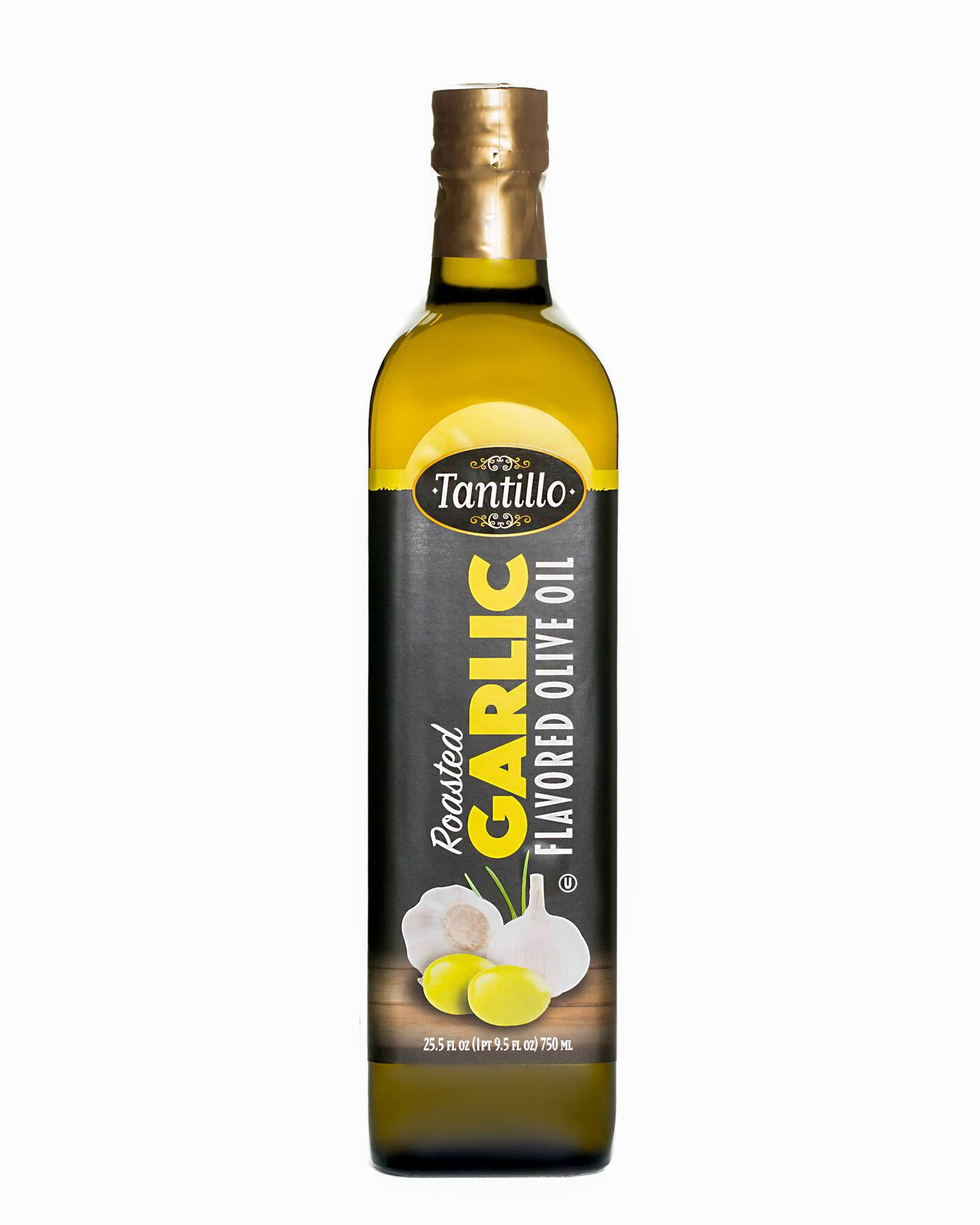 Tantillo Roasted Garlic Flavored Olive Oil – 750ml