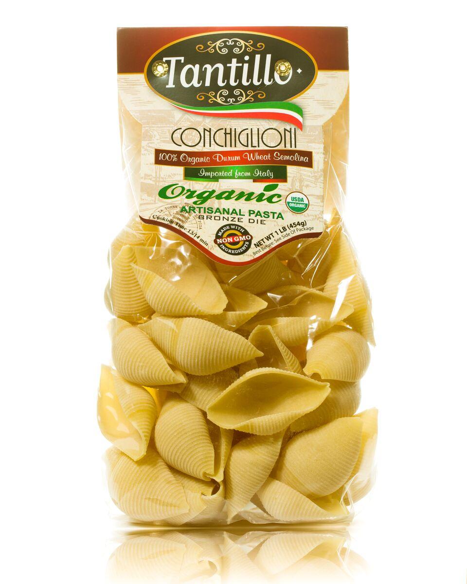 Tantillo Organic Artisanal Conchiglioni Pasta – 1lb
