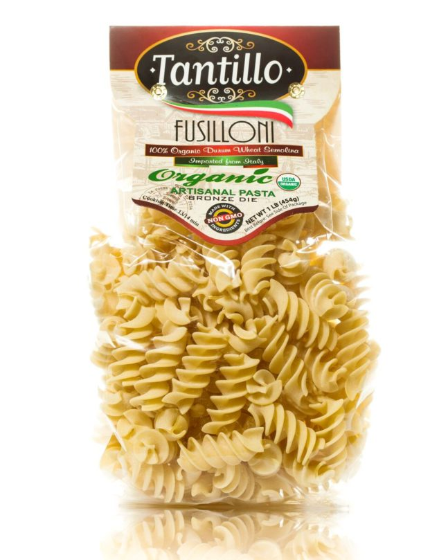 Tantillo Organic Artisanal Fusilloni Pasta – 1 Lb