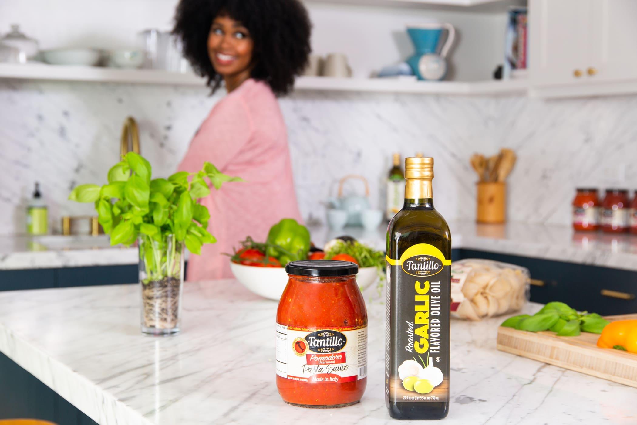 Pomodoro And Garlic Oil