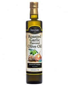 Tantillo Roasted Garlic Flavored Olive Oil 500mL (Pack Of 2)