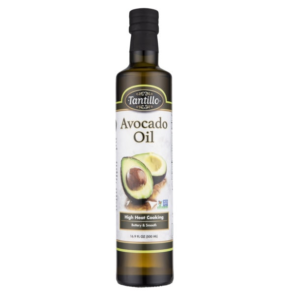 Avocado Oil 500Ml Label Front Scaled