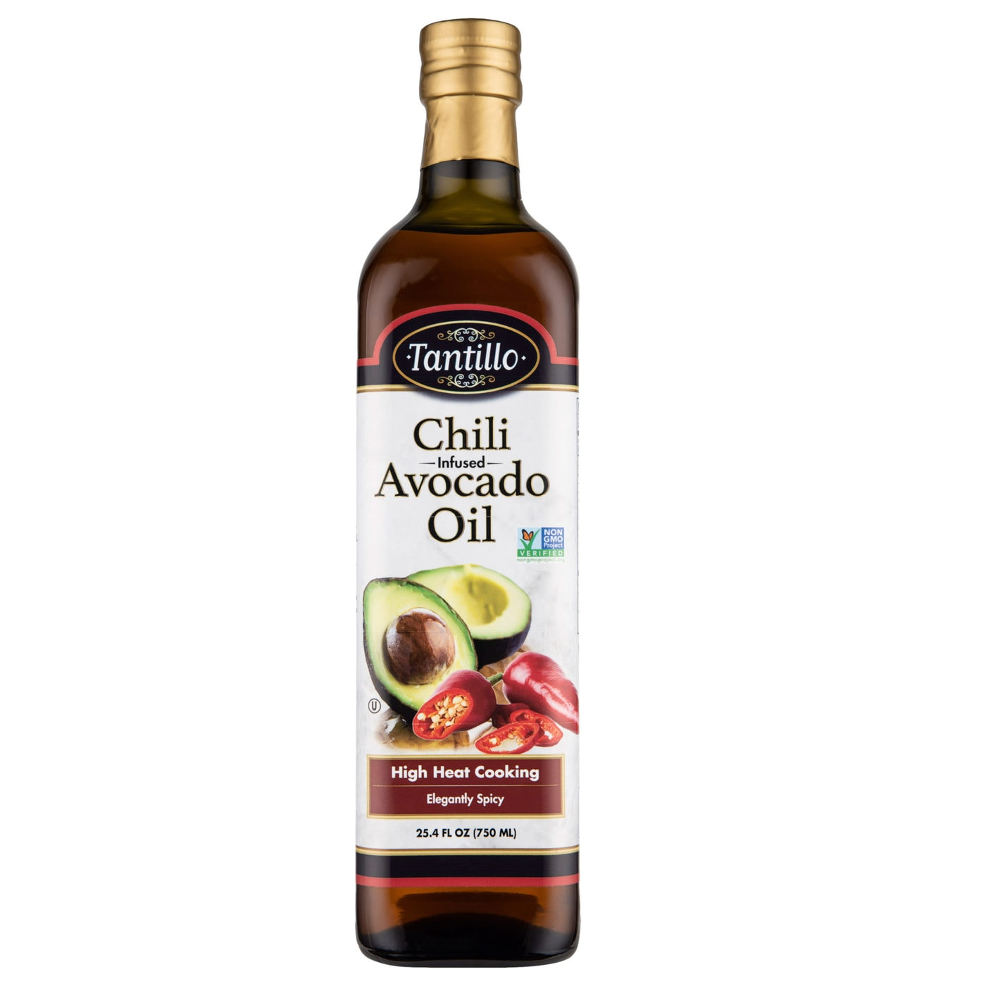 Tantillo Infused Avocado Oil with Chili 750mL (Pack of 2)
