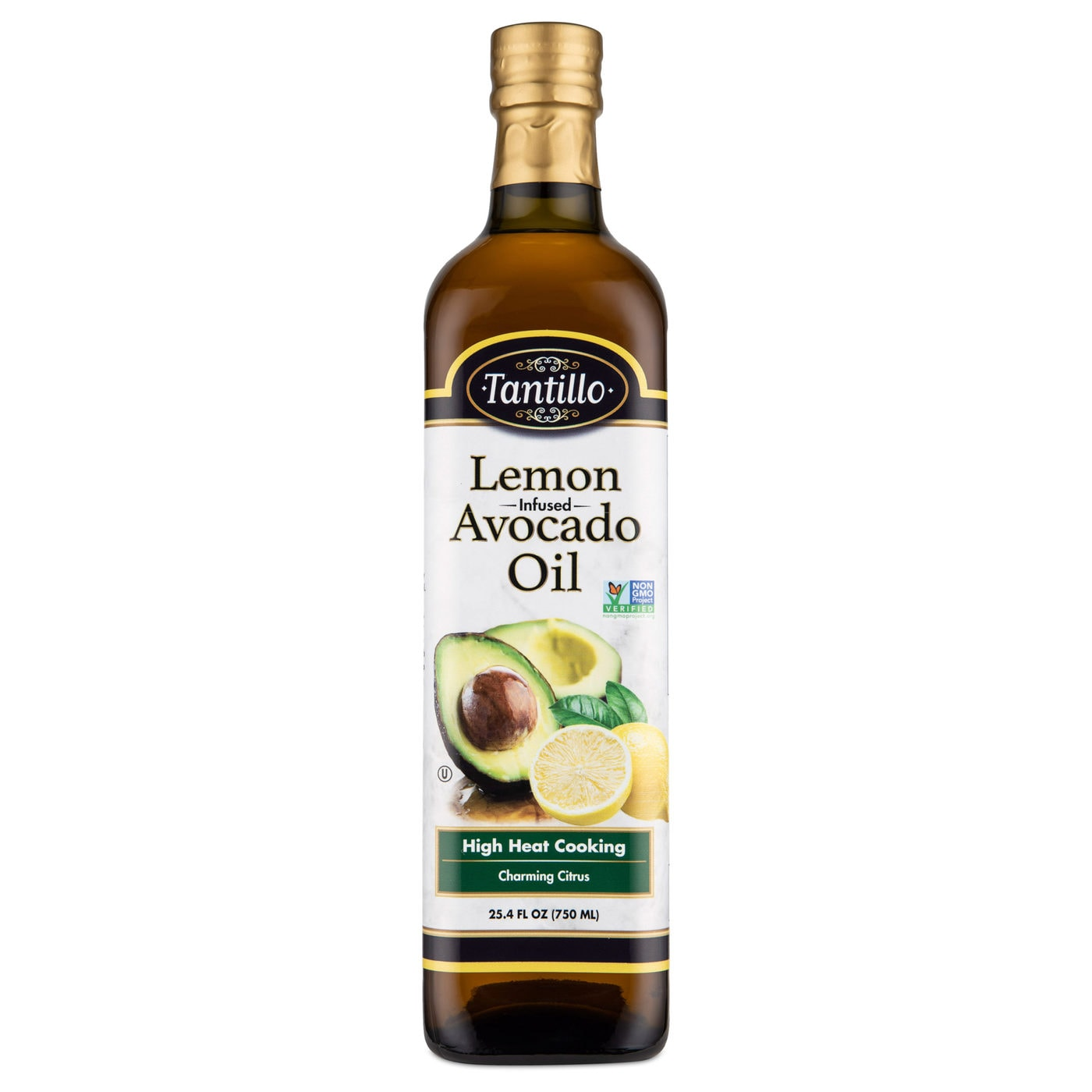 Tantillo Infused Avocado Oil with Lemon 750mL (Pack of 2)