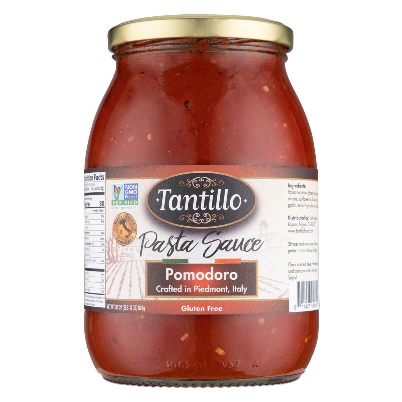 Tantillo Imported Italian Pomodoro Pasta Sauce 35oz (Pack of 2)