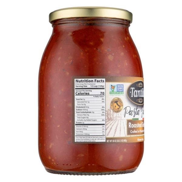Roasted Garlic Nutritional scaled