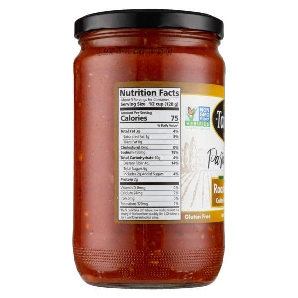 24Oz Roasted Garlic Nurtritional Scaled