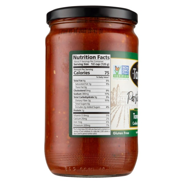 24Oz Tomato Basil Nutritional Scaled